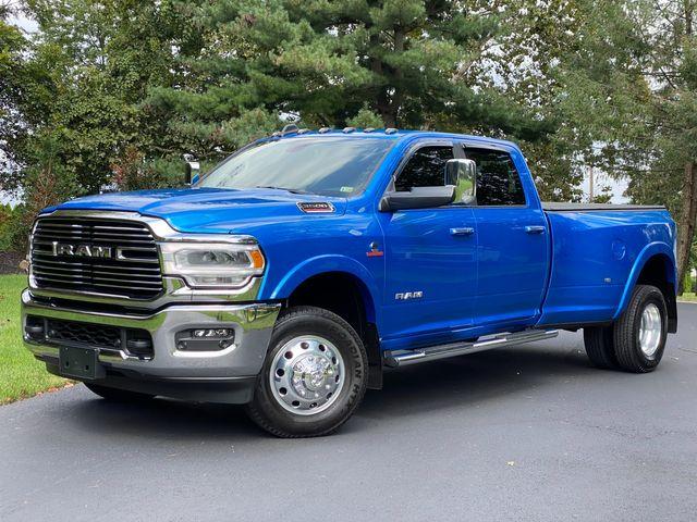 2021 Ram 3500 Cummins Diesel 4X4 LARAMIE DRW HYDRO BLUE LIKE NEW 7K MILES WOW