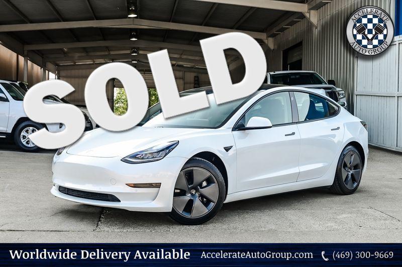 2021 Tesla Model 3 Standard Range Plus HTD Front Seats 1-Owner Nice!! in Rowlett Texas