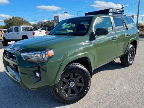 2021 Toyota 4Runner ARMY GREEN 4RUNNER 4X4 YAKIMA RACK in Plant City, Florida
