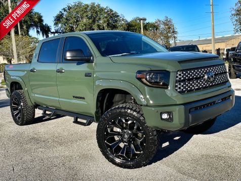 2021 Toyota TUNDRA ARMY TRD PRO CUSTOM LIFTED LEATHER CREWMAX  in Plant City, Florida