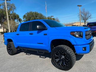 2021 Toyota TUNDRA VOODOO CUSTOM LIFTED LEATHER CREWMAX 4X4 V8  Plant City Florida  Bayshore Automotive   in Plant City, Florida