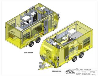 2022 Atc 20' GAME CHANGER PRO TOY HAULER (SCHEDULED FOR PRODUCTION) in Keller, TX 76111
