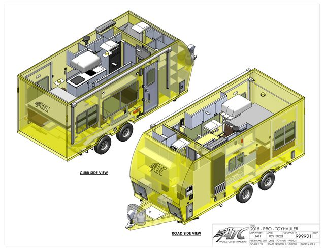 2022 Atc 20' GAME CHANGER PRO TOY HAULER (SCHEDULED FOR PRODUCTION)