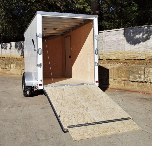 2022 Atc 6 X 12 +2 LUXURY V-NOSE ALUMINUM FRAME TRAILER RAMP DOOR W/ OFFROAD PACKAGE $9,495 in Keller, TX 76111