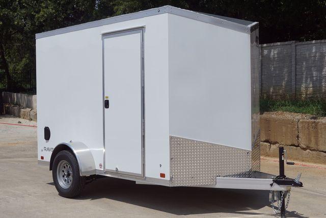 2022 Atc 6X10+2 LUXURY V-NOSE ALUMINUM FRAME CARGO TRAILER W/ RAMP DOOR $6,995 in Keller, TX 76111