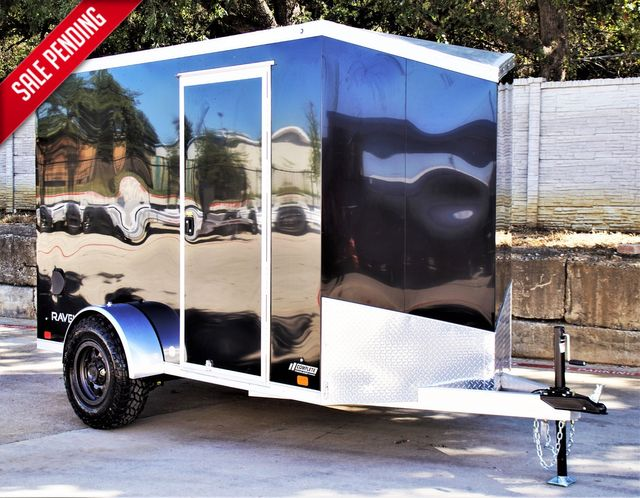 2022 Atc 6X10+2 LUXURY V-NOSE ALUMINUM FRAME CARGO TRAILER W/ OFFROAD PACKAGE $7,995