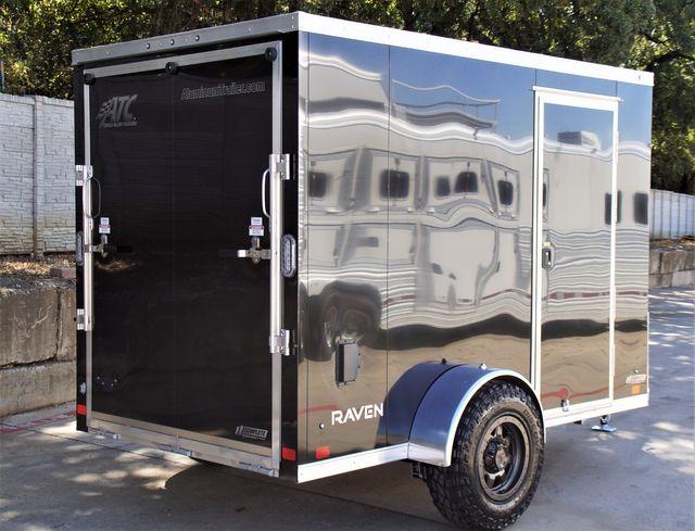 2022 Atc 6X10+2 LUXURY V-NOSE ALUMINUM FRAME CARGO TRAILER W/ OFFROAD PACKAGE $7,995 in Keller, TX 76111