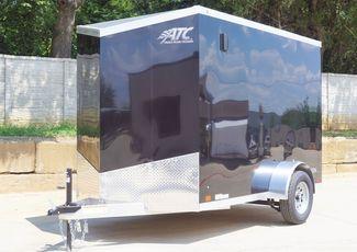 2022 Atc 6X10+2 V-NOSE ALUMINUM FRAME TRAILER $8195 in Keller, TX 76111