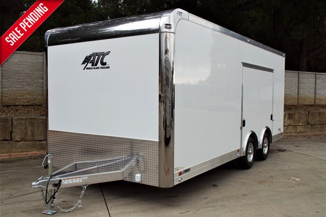 2022 Atc DISCONTINUED MODEL SALE 8.5 X 20 ALL ALUMINUM CAR HAULER CH205 PACKAGE $29,995
