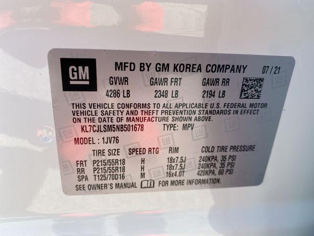 2022 Chevrolet Trax LT Madison, NC 35