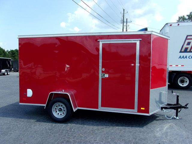 """2022 Covered Wagon Enclosed 6x12 6'3"""" Interior Height in Madison, Georgia 30650"""