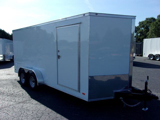 """2022 Covered Wagon Enclosed 7x16 6'3"""" Interior Height"""