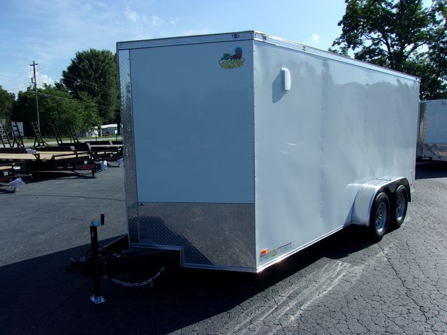"""2022 Covered Wagon Enclosed 7x16 6'3"""" Interior Height in Madison, Georgia 30650"""
