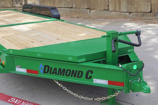 2022 Diamond C ALL NEW HDT 24' TRIPLE AXLE TILT HD EQUIPMENT TRAILER $13,500 in Keller, TX 76111