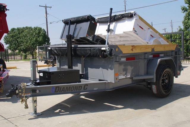 2022 Diamond C GST106 SINGLE AXLE DUMP in Keller, TX 76111