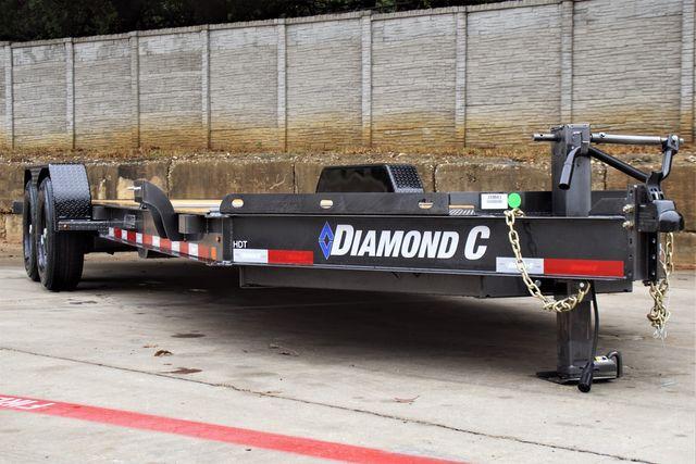2022 Diamond C 82'' X 22' HYDRAULIC DAMPENING TILT EQUIPMEN TRAILER W/ TANDEM 7K AXLES $13,995 in Keller, TX 76111