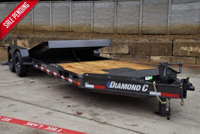 2022 Diamond C 82'' X 22' HYDRAULIC DAMPENING TILT EQUIPMEN TRAILER W/ TANDEM 7K AXLES $13,995