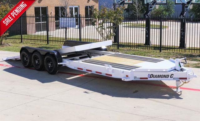 2022 Diamond C HDT 82'' X 26' TRIPLE AXLE TILTING TRAILER W/ BLACKWOOD DECKING $17,495 in Keller, TX 76111