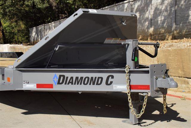 2022 Diamond C 28' HDT TANDEM 10K AXLE DAMPENING TILT EQUIPMENT TRAILER $21,595 in Keller, TX 76111
