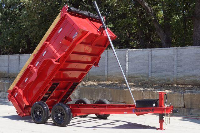 2022 Diamond C MST206 MEDIUM DUTY DUMP TRAILER 10,000 LB GVWR $10,995 in Keller, TX 76111