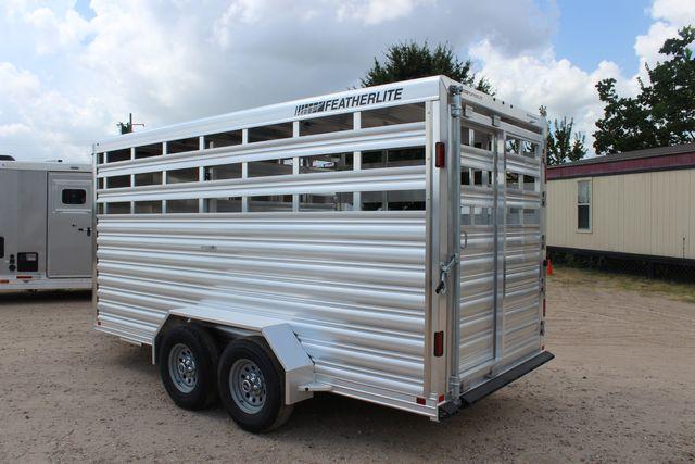 "2022 Featherlite 8107 16' Livestock 6'7"" X 7' Tall, Aluminum deck, 4.8Ks in Conroe, TX 77384"