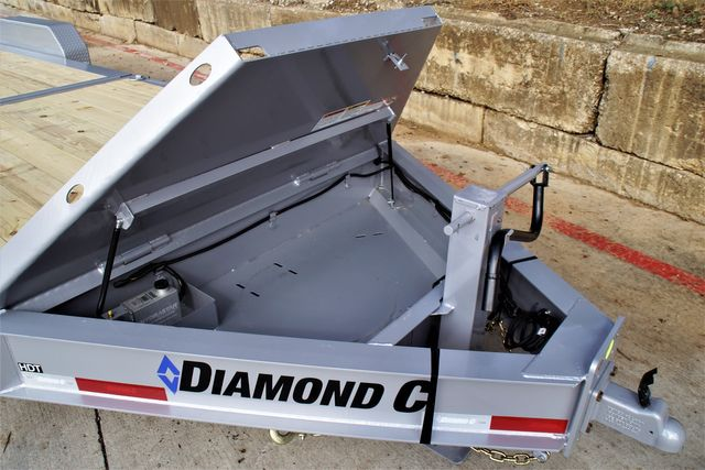 2022 Diamond C 24' HDT TANDEM 8K AXLE TILT EQUIPMENT TRAILER W/ ELECTRIC OVER HYDRAULIC DISK BRAKES $20,995 in Keller, TX 76111