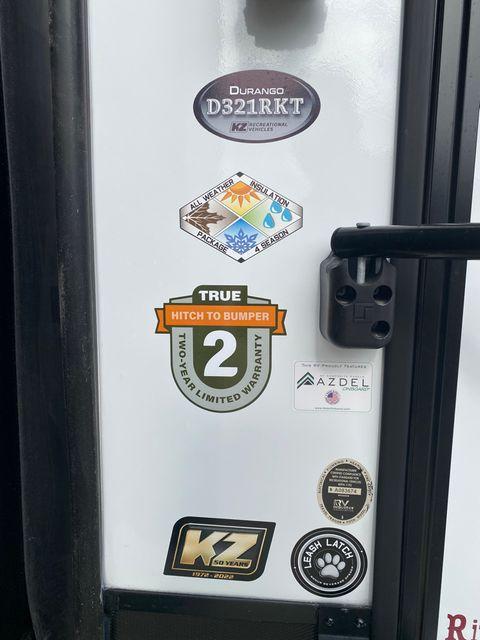 2022 Kz Durango D321RKT in Mandan, North Dakota 58554