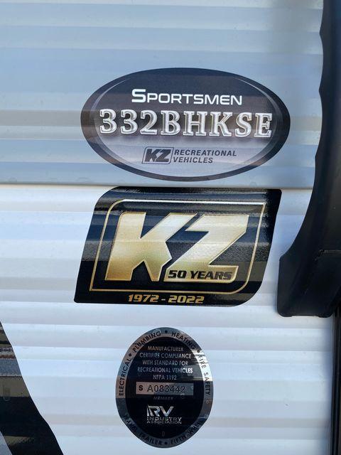 2022 Kz Sportsmen SE 332BHKSE in Mandan, North Dakota 58554