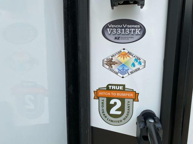 2022 Kz Venom V3313TK in Mandan, North Dakota 58554